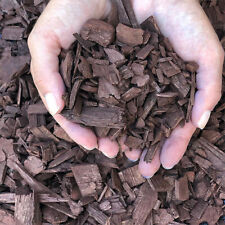 Bark Mulch & Wood Chips Brown Color 1/2litre(0.1gallon)Decorative