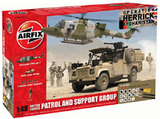 Airfix 1/48 British Forces Patrol & Support Group Plastic Model Kit 50123