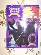 Maleficent Mask & Costume, Sleeping Beauty, Disney Classics, 1991 Matel