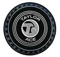 Taylor The ACE (progrip) Black Flat Green Bowls Set of 4 - 131
