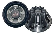 NEW Pyle 15'' 4000 Watt DVC Subwoofer w/ 4000 Watts Peak Power and SPL: 92 dB