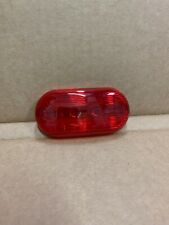 1960's WHEELHORSE TAIL LIGHT LENS rounded by Dietz 8042