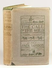 Jack London - The Call of the Wild, 1st edition in dust jacket, Macmillan, 1903