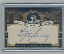 2007 SP Legendary Cuts Lefty Gomez autograph card  numbered 08/75