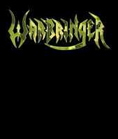 WARBRINGER cd lgo TOTAL F#CKING WAR Official SHIRT LAST MED New OOP camo letters