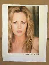 Chandra West, original vintage headshot photo with credits #1