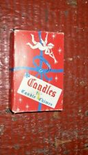 Vintage Angel Chime Replacement Candles Box 12 Wax Tree Candles