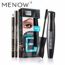 MENOW 1 Mascara +2 Eyeliner Eyelash Curling Thick Lasting Lengthening Waterproof