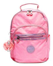 """NWT- Kipling Seoul Go Small 11"""" Laptop Backpack ~unique~ Conversation Heart Pink"""