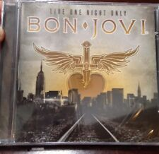 Bon Jovi Live One Night Only Ships From NJ CD Keep The Faith U2 Kiss