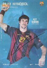 Viran Morros: WM 1.2013,EM 3.2014 Handball Spanien