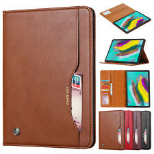 "For Samsung Galaxy Tab A 10.1"" 2019 SM-T510 / T515 Flip Leather Stand Case Cover"