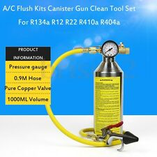 A/C NVH-399 Flush Kits Canister Clean Tool Set for R134a R12 R22 R410a R404a