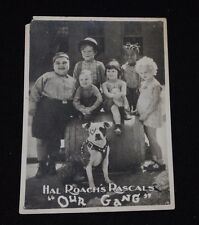 "Vintage Hal Roach's Rascals ""Our Gang"" 5x7"" B&W Photo / Lobby Card"
