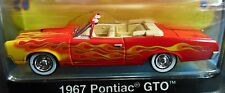 GREENLIGHT 67 1967 PONTIAC GTO CONVER UP IN FLAMES MUSCLE CAR GARAGE COLLECTIBLE