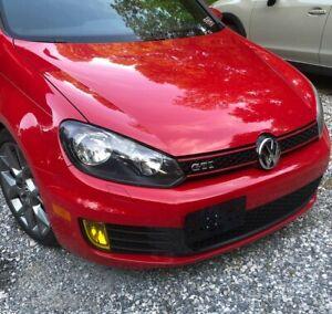 Bumper Tow Hook License Plate Mount Bracket For Volkswagen Golf / GTI 2010-2014