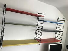 Retro Tomado 6 shelves, 4 brackets (1 not pictured)