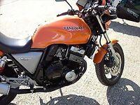 R&G RACING Crash Protector - Honda CB400  **BLACK**