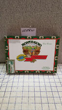 Montesino Gran Corona Wood Colorful Paper Cigar Box Empty Wedding Trinket Purse