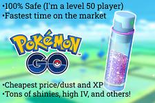 Pokemon Go 100,000,000 mega XP pack+eggs