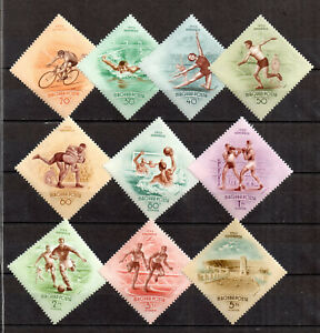 Hungary  Stamps 1953 Games   Set  CPL  MNH Very Fine