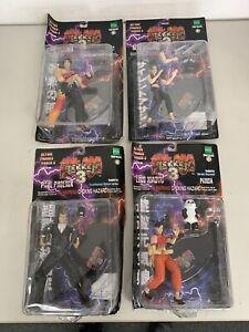 Epoch Tekken 3 Jin Kazama, Nina Williams, Paul Phoenix, Ling Xiaoyu Figure set 1