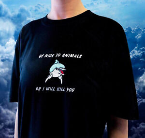 Be Nice To Animals Vegan Embroidered Unisex S/M/L/XL