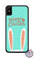 Happy Easter Bunny Ears Design Phone Case For iPhone 11Pro Samsung LG Google