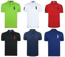 Ralph Lauren Men's Short Sleeve Regular Cotton Casual Shirts & Tops