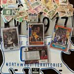 Stamps, Sportscards, License Plates