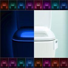 LumiLux Advanced 16-Color Motion Sensor Led Toilet Bowl Night Light, Internal