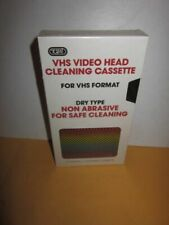 Tozai VHS Video Head Cleaning Cassette - Dry Type Non-abrasive