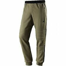 adidas fleece cargo pant brown padded knees, tapered leg Small v rare RRP £50!