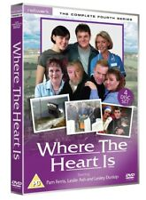WHERE THE HEART IS the complete fourth series 4. Pam Ferris. New sealed DVD.