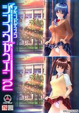 PC Win Game Artificial Academy Jinkou Gakuen 2 append disc Japan Bishoujo FS NEW