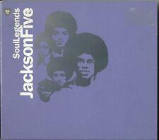 The Jackson 5 - Soul Legends CD ALBUM / DIGIPAK 19 TRACK COMPILATION / 2 REMIXES