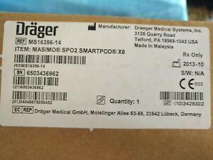 DRAEGER MS16356-14 MASIMO SP02 SMARTPOD X8