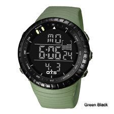 OTS LED Digital Climbing Outdoor Sports Waterproof Wrist Watch Men Fashion Gifts