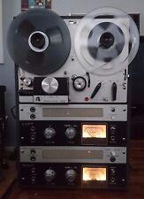 Akai Vintage Valve M-8 Reel to Reel Cross Field Head 4 Track Stereophonic Tape