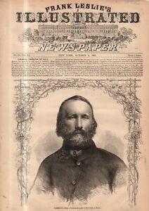 1860 Leslie's - Original print only October 6 - Garibaldi the liberator of Italy