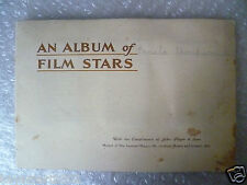1936 An ALBUM of FILM STARS by John Player, 100% Completed; Set of 50