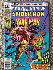 Marvel Team-Up #48 (Marvel, August 1976) VF/NM (9.0) & Iron Man