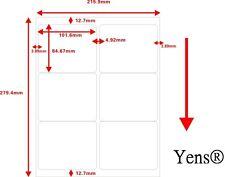 Yens®  100 Sheets 600 Labels Address Labels Amazon FBA Labels  Size 5164