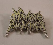 MANIAC BUTCHER Band Logo (Pin Badge) (New)