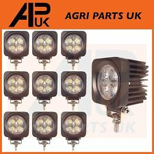 10 X 12W LED Work Light Lamp Flood Beam 12-24V Boat Digger Tractor Jeep SUV 4X4