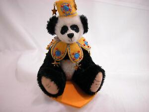 "World of Miniature Bears By Theresa Yang 4""  German Mohair Bear Chen #870"