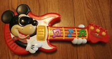 Disney MICKEY MOUSE CLUBHOUSE Interactive Guitar Mattel Toy 2010 ROCK STAR-Works
