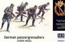 Masterbox - German panzergenadiers Deutsche Panzergrenadiere 1:35 Front  Bausatz