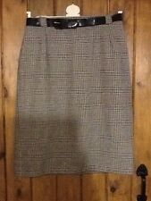 straight Checked Skirt by Sportleigh of London