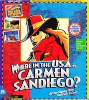 WHERE IN THE USA IS CARMEN SANDIEGO? +1Clk Windows 10 8 7 Vista XP Install